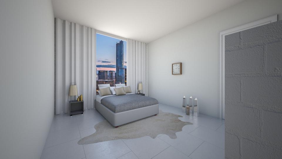 By Amal El Achrafi - Minimal - Bedroom - by amalachrafii