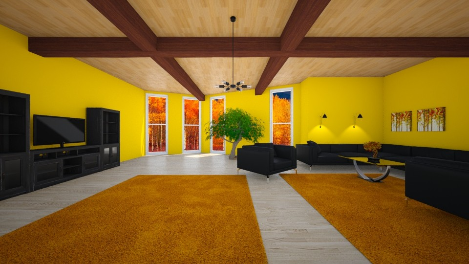 autumn - Living room - by sirtsu