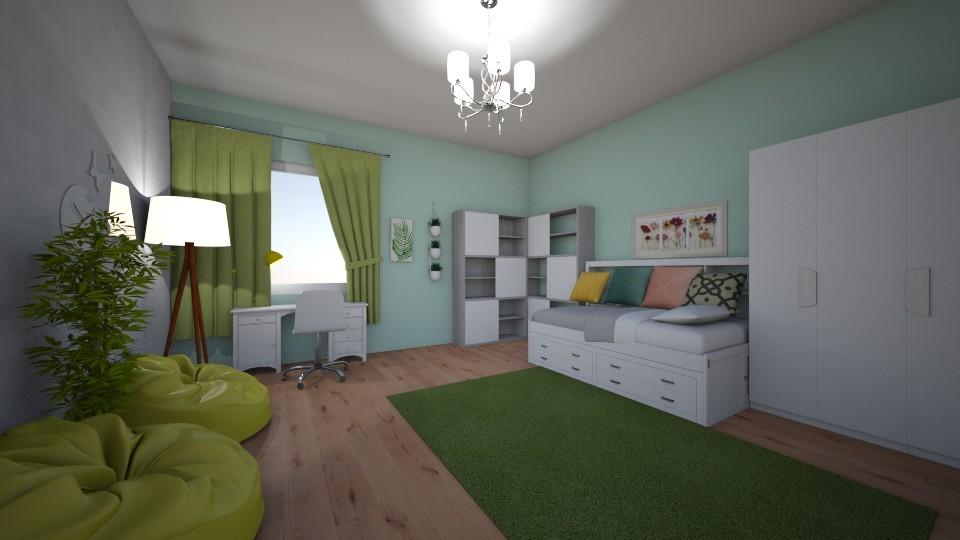 Anastasia Chadrantseva - Kids room - by Anastasia Chadrantseva