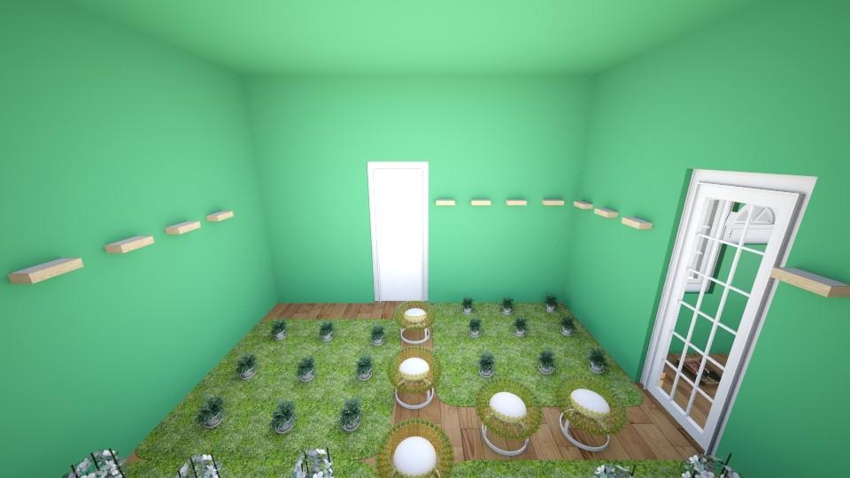 green house for AOI - Garden - by killagamz1125