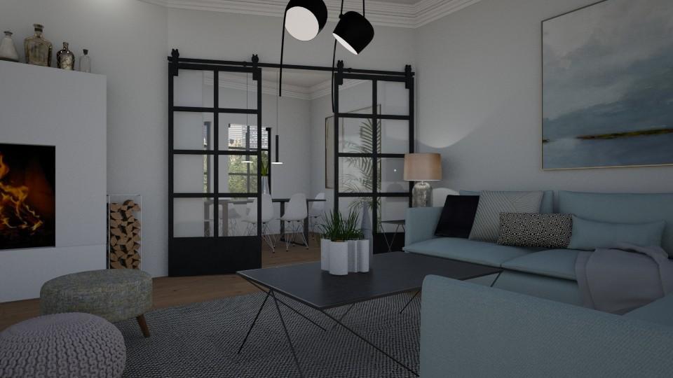 Scandinavian living - Living room - by Tuija