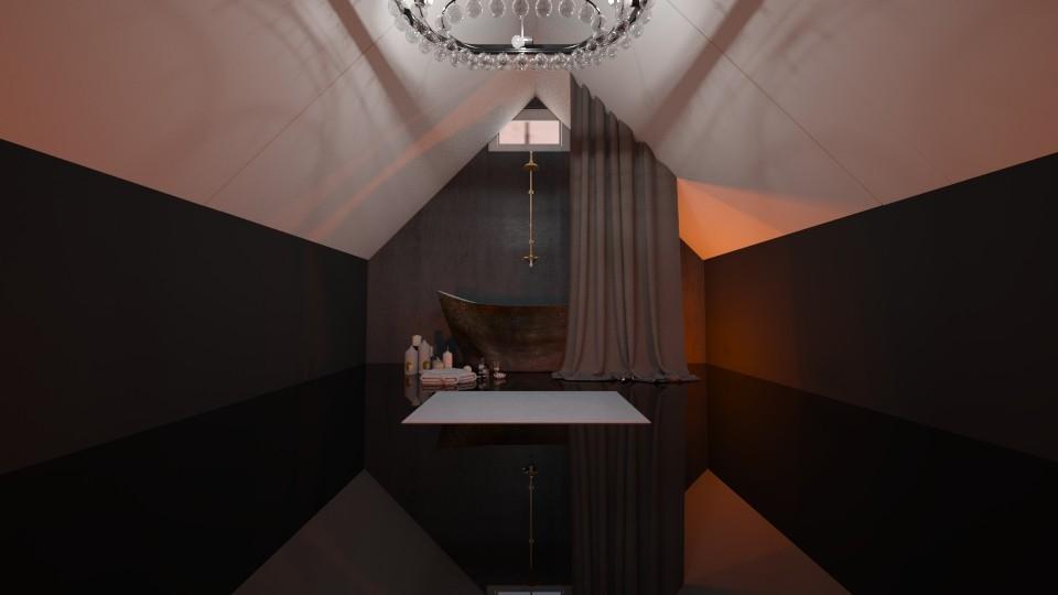 Attic Bathroom - Bathroom - by LukePeterson