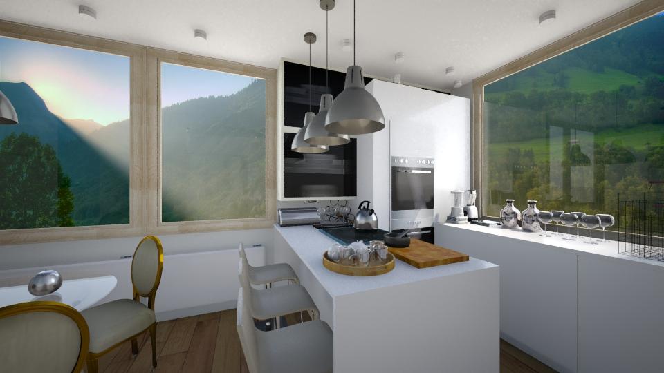 Kuhinja a 70 - Kitchen - by Dolika