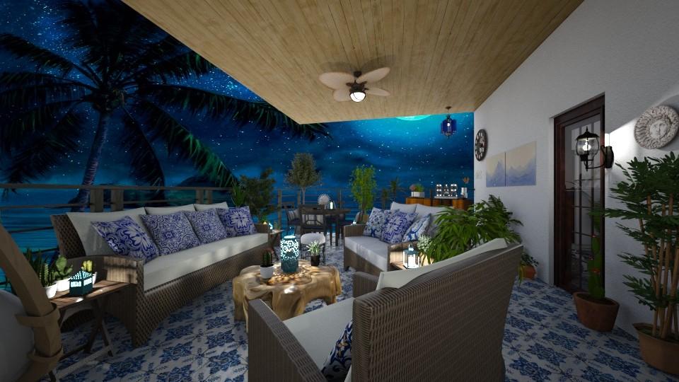 Beach House floor 2 - by Kelly Carter