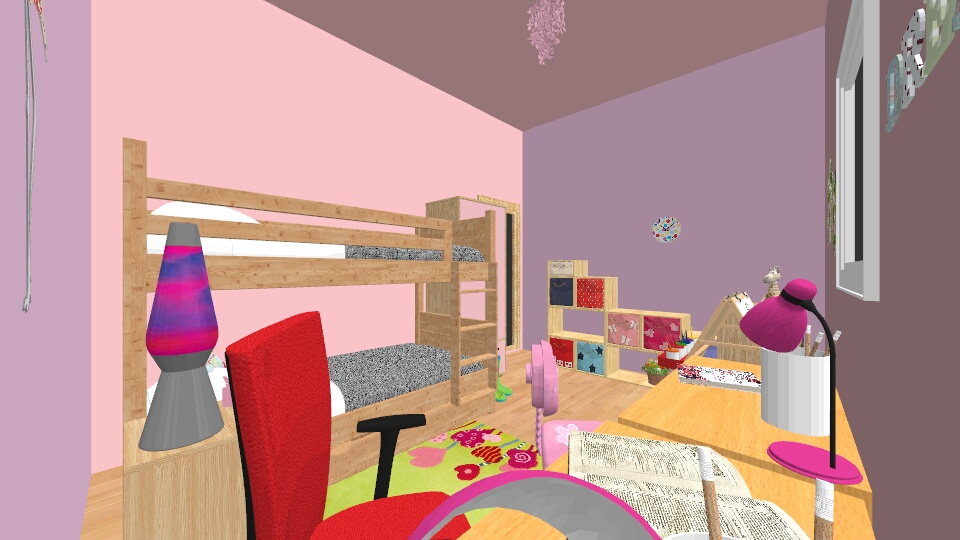 girls - Modern - Kids room - by maruska