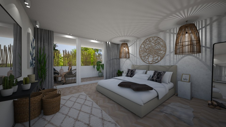 Master bedroom - Bedroom - by sdeconi