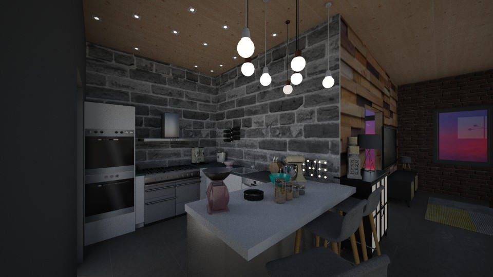 MC113 Kitchen - by Shuu Dark