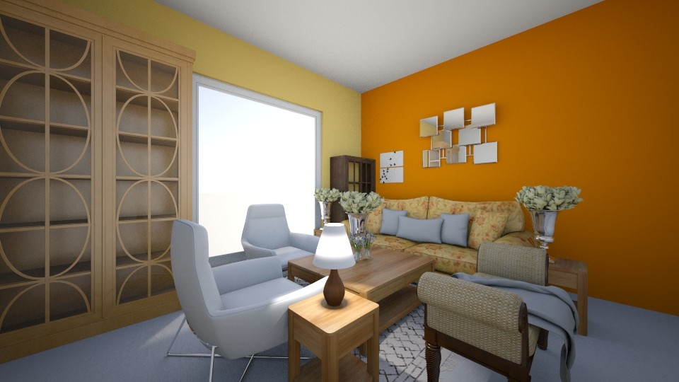 Color - Living room - by Crazy cat girl 10