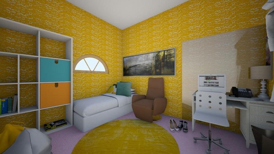 Teen Bedroom - Classic - Kids room - by BlacBree