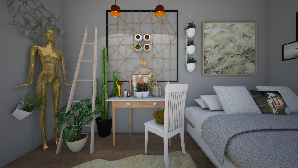 My tumblr style - Modern - Bedroom - by dett19