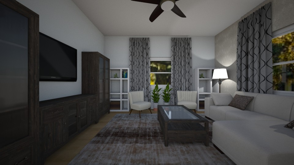 family room  - by mbickel