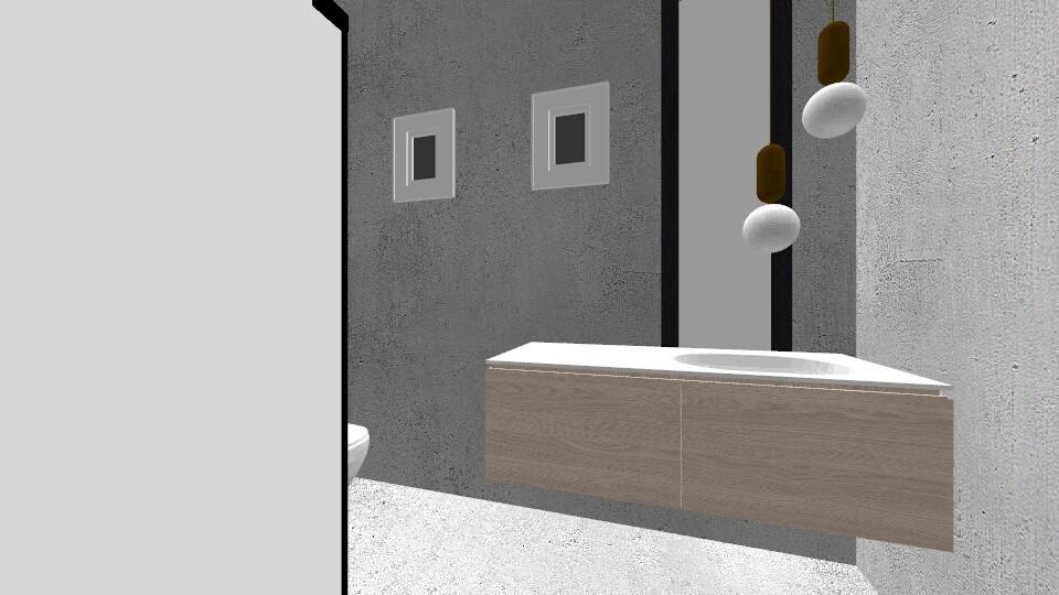 nasza lazienka2 - Bathroom - by kawierzejska