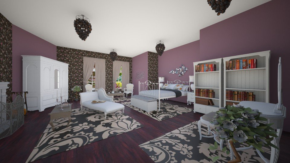 Ivana - Vintage - Bedroom - by Ivana1307