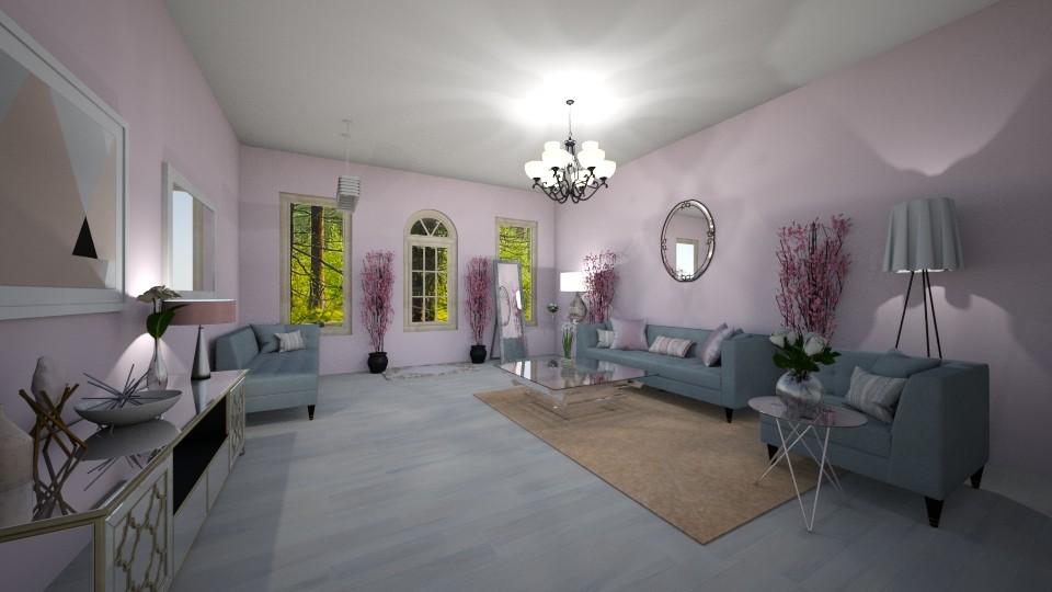 Calming Room - Feminine - Living room - by elladesign