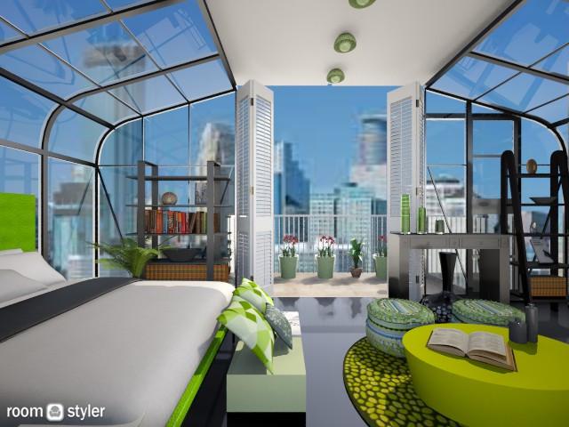kiwi green - Modern - Bedroom - by aarish khan