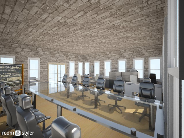 Conference Office - Modern - Office - by Okeanos