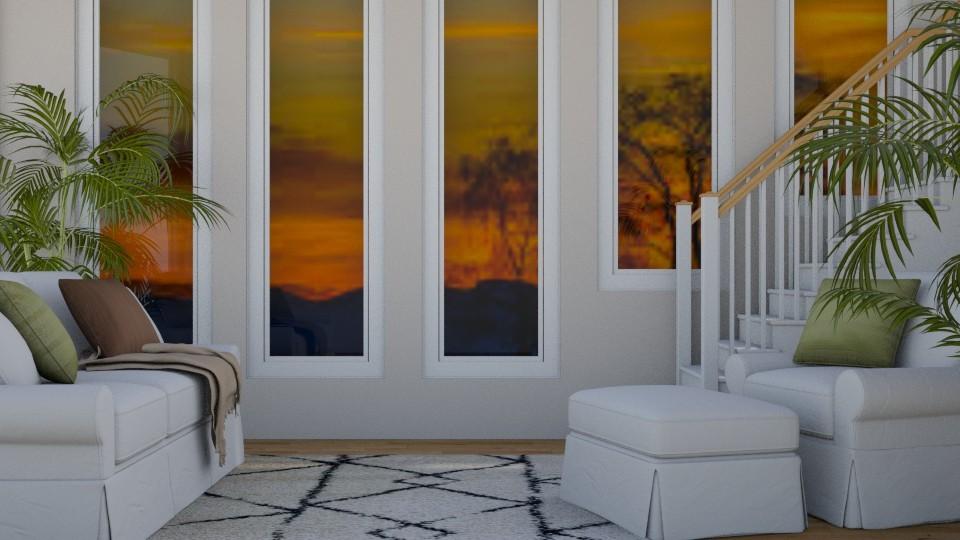 Grand Sunset - Modern - Living room - by stephendesign