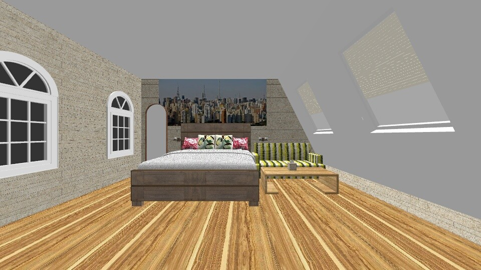 Citi Attic - Bedroom - by New York Mets
