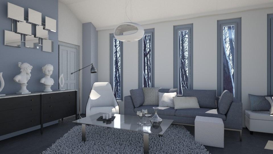 Slender White Pr 11 - Living room - by VermontianRain