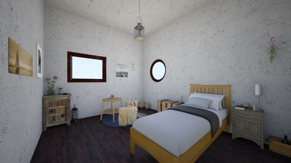 Hut of Shells - Bedroom - by Sherry Li