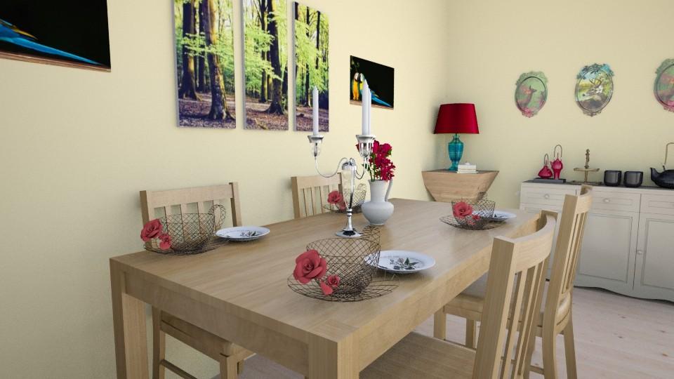 Cay Zaman  - Modern - Kitchen - by zenaalomran