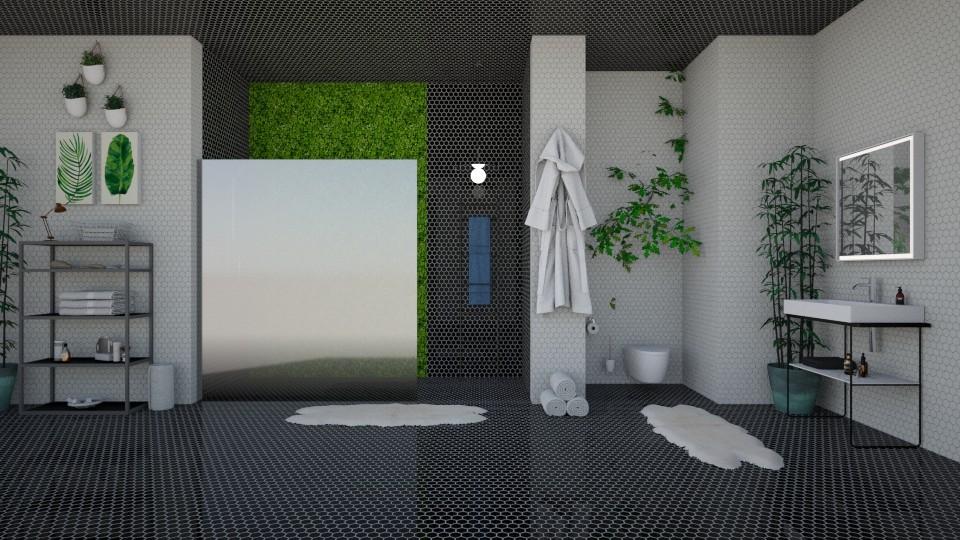 Urban Jungle Bathroom - Bathroom - by Asha_Shade