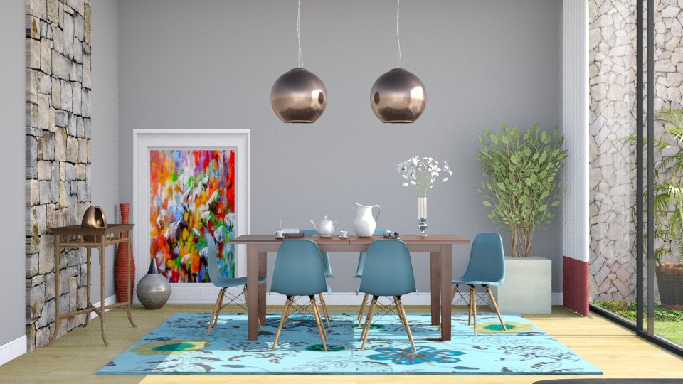 Jantar 3 - Dining room - by Alecio