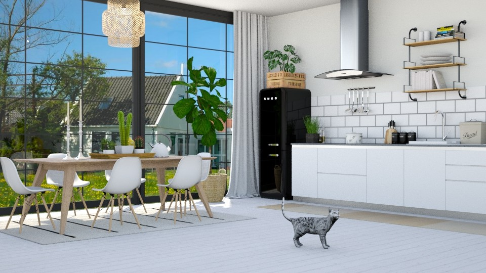Swedish - Kitchen - by lovedsign