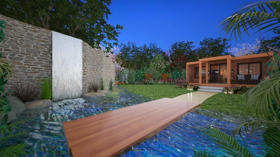 modern end ciassic garden - Garden - by  Georgos Giannitopoylos