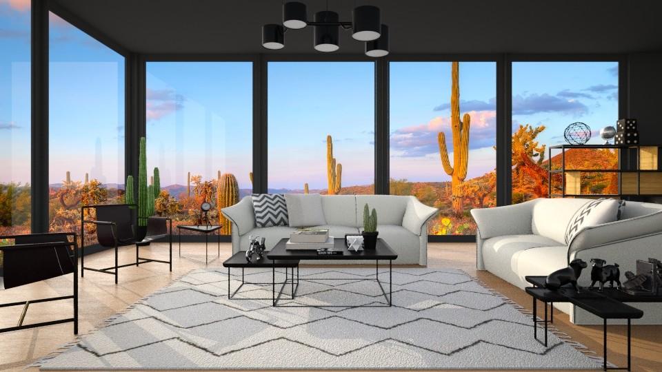 La Mise - Global - Living room - by Rose Hdz