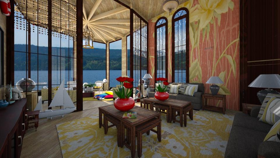 Garagem de Barco - Living room - by Maria Helena_215