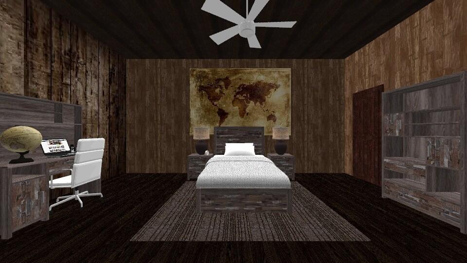 dark - Bedroom - by angelknife