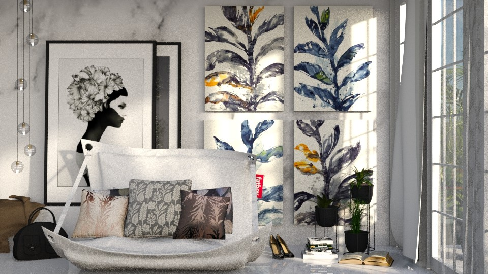 Tropical Wonder Wall - by martillaga