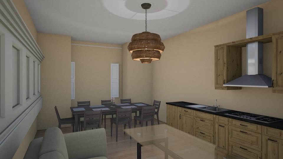 kitchen1 - Modern - Kitchen - by Anelia1601