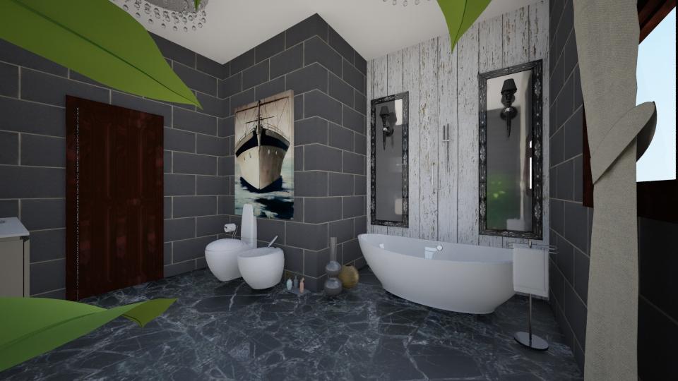 bath - Bathroom - by Fika Chawich Fares