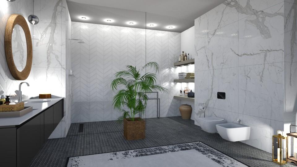 bathroom - Modern - Bathroom - by jagwas