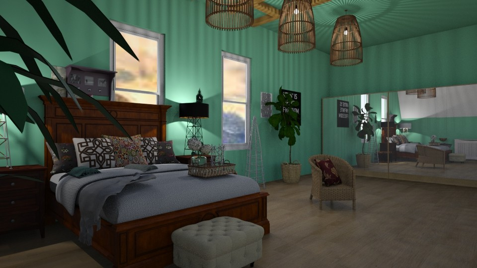 Eclectic - Bedroom - by its_dd24