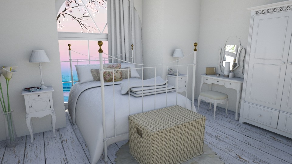 white - Bedroom - by Marlen_Marlen