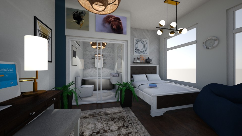 My dream room 2 - Modern - by 24alexber