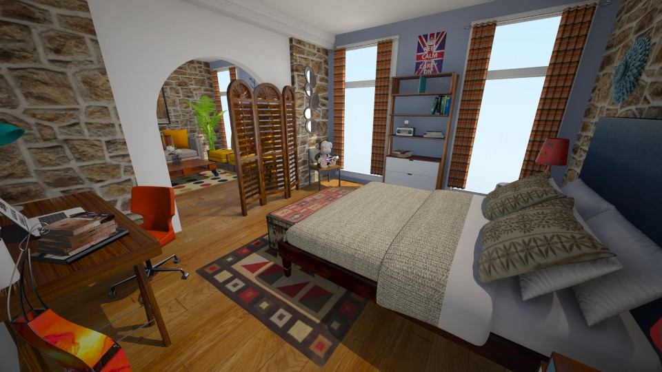 new apt - Bedroom - by sally89