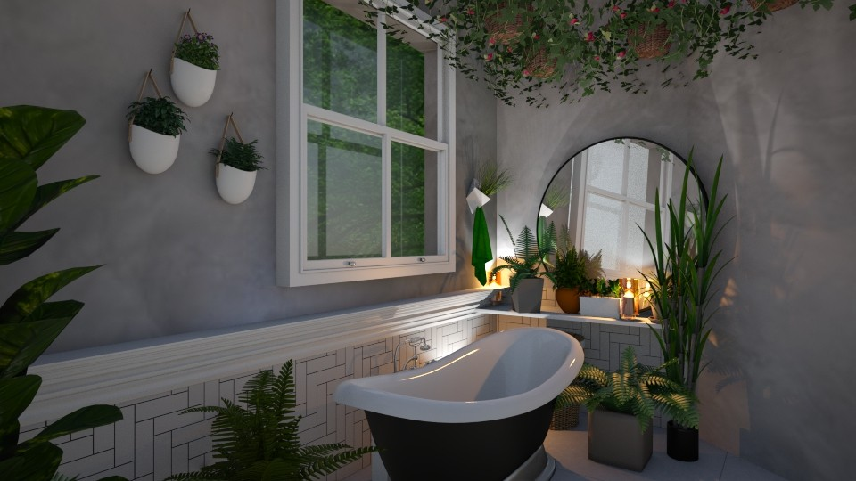 Garden Bath - Bathroom - by yonvie