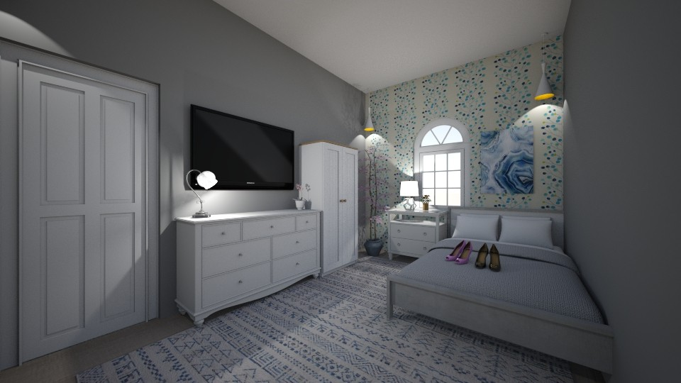 teenagers bedroom - by tinyhan