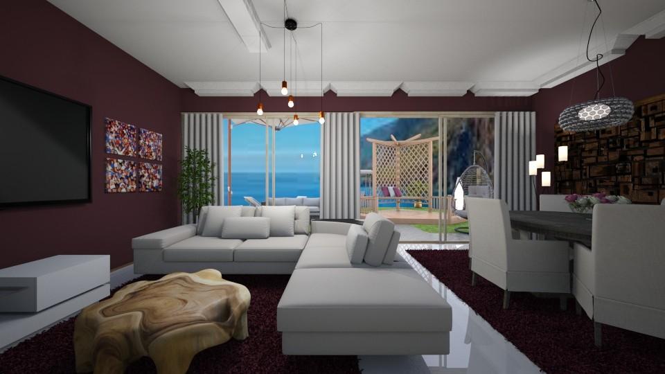 sumer living room - by Tininha oliveira