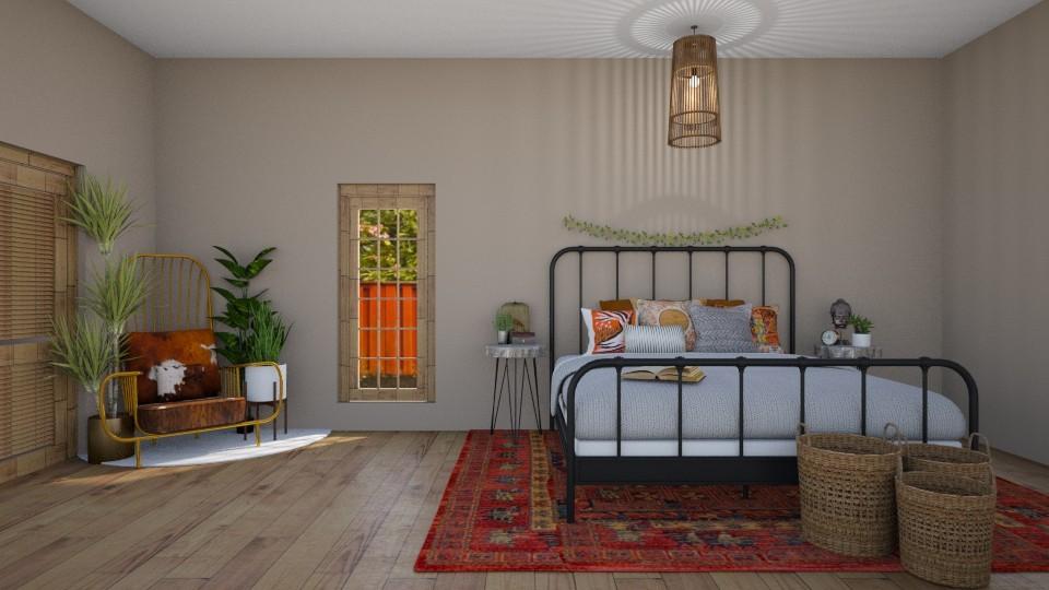 12 - Bedroom - by rosej