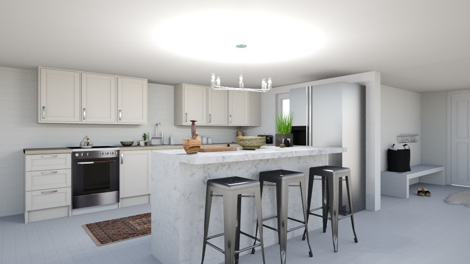 Marble - Kitchen - by Yate