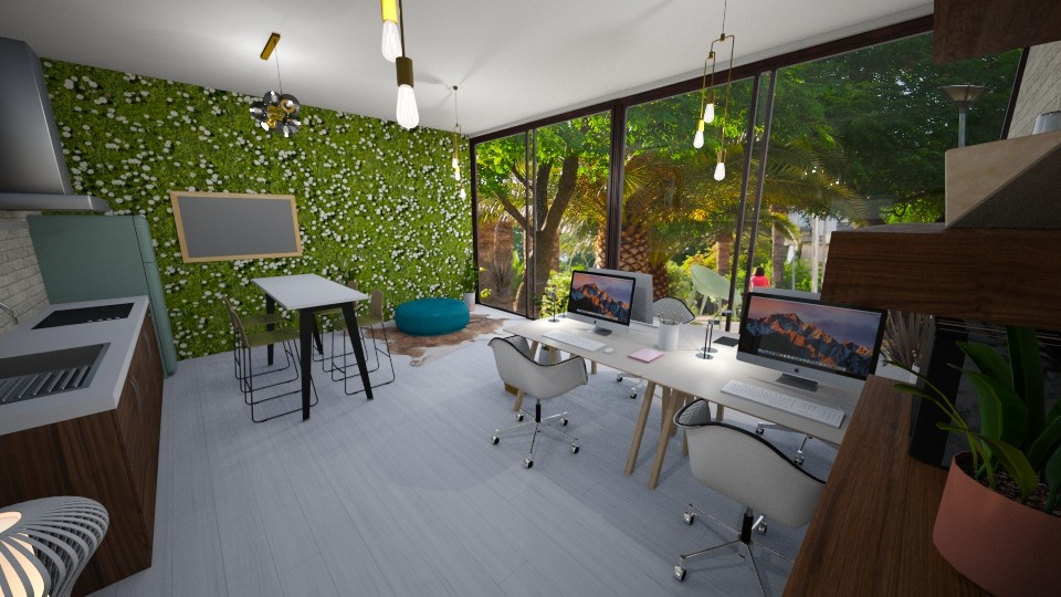 Living Office Wall - Office - by Marion_