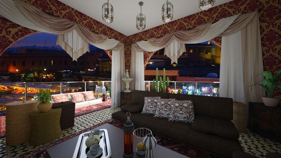 Marrakech - Living room - by Szilvia94