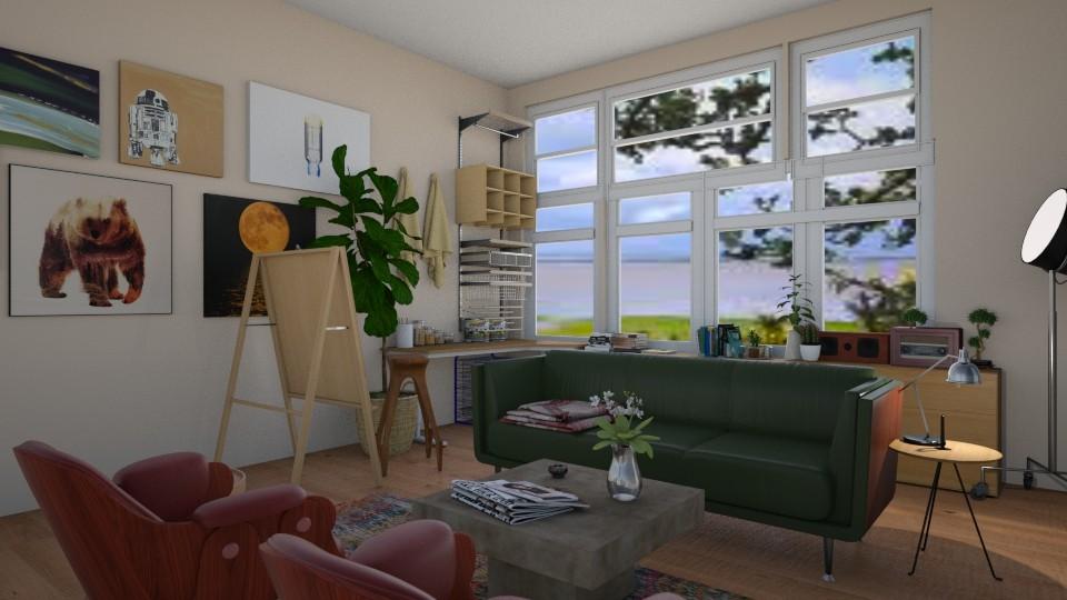 Art Studio Living - by reedj0218