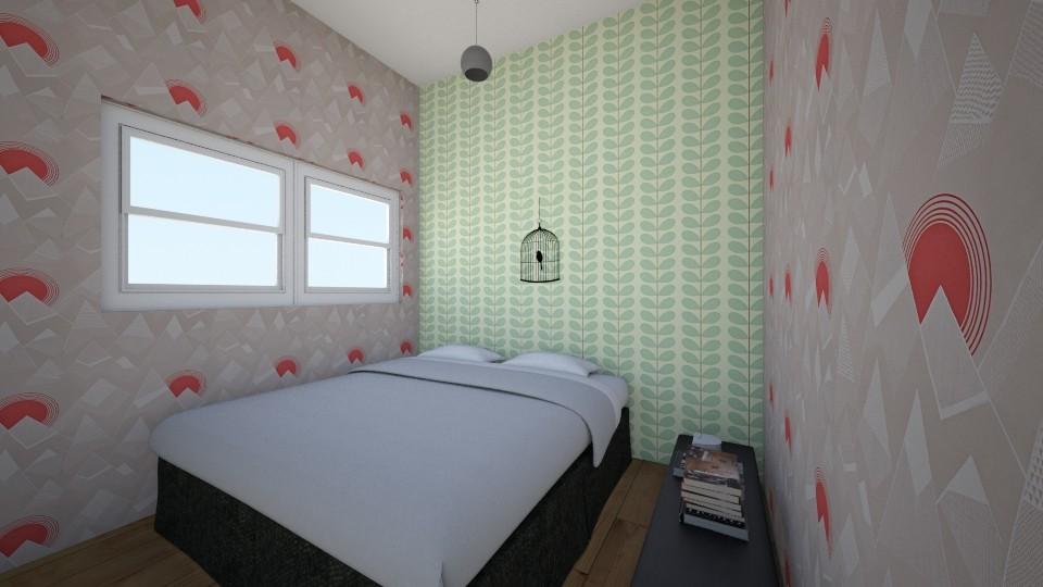 BED - Minimal - Bedroom - by Faranak