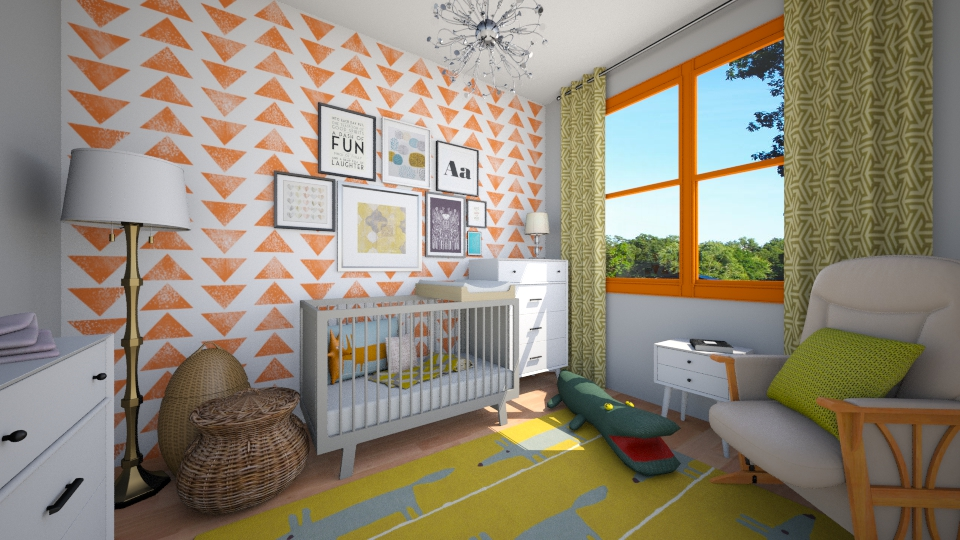 nursery - Kids room - by cyndyrelly